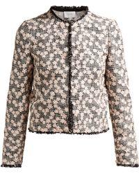 Giambattista Valli - Floral Applique Jacket - Lyst