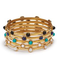 Sylvia Toledano - Stone Embellished Bracelet Set - Lyst
