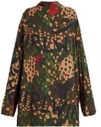 Vivienne Westwood - Floral, Graffiti And Camouflage Print Tunic - Lyst
