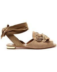 Sandales Compensées De Fleurs De Cerisier Aquazzura 8sa4wnYh16