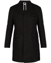 Thom Browne - Bicolor Wool High-armhole Chesterfield Overcoat - Lyst