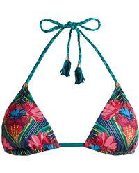 Paolita - Agave Triangle Bikini Top - Lyst