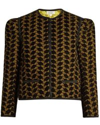 Isa Arfen - Embroidered Velvet Jacket - Lyst