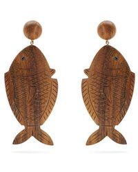 Rebecca de Ravenel - Caspia Clip-on Earrings - Lyst