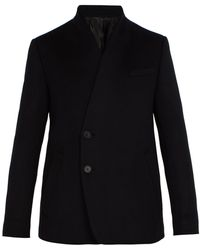 Wooyoungmi - Collarless Wool-blend Blazer - Lyst