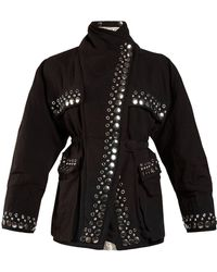 Isabel Marant - Emmy Reversible Stud Embellished Jacket - Lyst