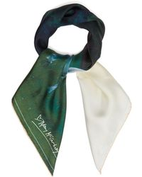 Mary McCartney - Into The View-print Silk Scarf - Lyst