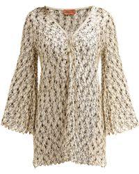 Missoni - Fishscale Crochet Dress - Lyst