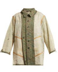 MYAR - - 1980s Czc80 Czech Cotton Jacket - Womens - Khaki Multi - Lyst