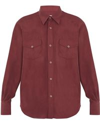 Cobra S.C. - Ranger Point Collar Silk Shirt - Lyst