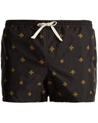 Gucci   Bee-jacquard Swim Shorts   Lyst