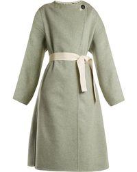 Isabel Marant - Fargo Oversized Tie-waist Wool-blend Coat - Lyst