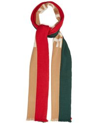 Gucci - Blind For Love Fringed Wool-blend Scarf - Lyst