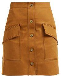 Acne Studios - Sirenk Cotton-blend Skirt - Lyst