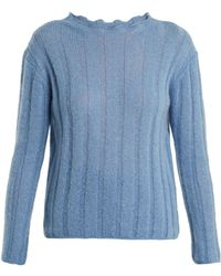M.i.h Jeans - Carolee Mohair-blend Sweater - Lyst
