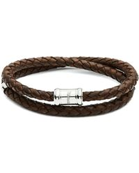 Miansai | Casing Braided Leather Bracelet | Lyst