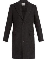 SALLE PRIVÉE - Gilles Single Breasted Wool Blend Coat - Lyst