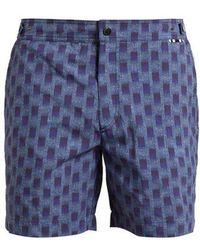 Danward - Abstract-print Swim Shorts - Lyst