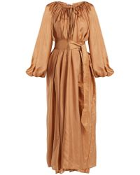 Kalita - Andromeda Silk Maxi Dress - Lyst