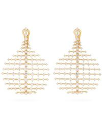 Fernando Jorge - Diamond & Yellow-gold Disco Earrings - Lyst