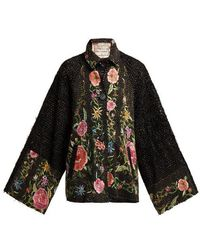 By Walid - Marion Embroidered 19th-century Silk Jacket - Lyst