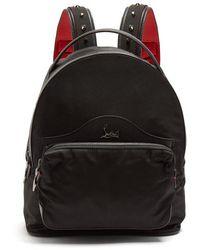 Christian Louboutin - Backloubi Small Spike-embellished Backpack - Lyst