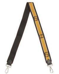 Fendi - Strap You Logo-jacquard Bag Strap - Lyst