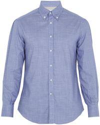 Brunello Cucinelli   Single-cuff Cotton Shirt   Lyst