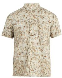 Glanshirt - Jake Floral-print Cotton Shirt - Lyst