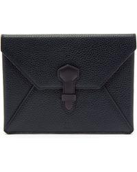 Dunhill - Boston Envelope Leather Passport Holder - Lyst