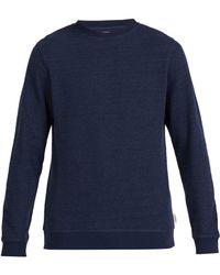 Oliver Spencer - Robin Crew Neck Cotton Sweatshirt - Lyst