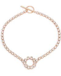 Isabel Marant - Crystal Embellished Necklace - Lyst