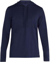 Polo Ralph Lauren - Hooded Cotton Pyjama Top - Lyst