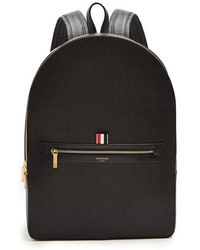 Thom Browne - Pebbled-leather Backpack - Lyst