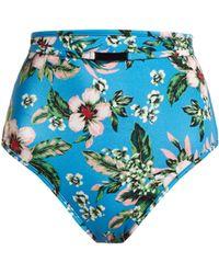Diane von Furstenberg - Cheeky High Waisted Bikini Briefs - Lyst