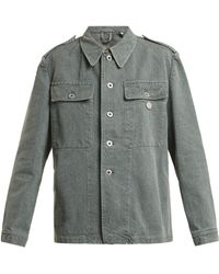 MYAR - Oversized Denim Army Jacket - Lyst