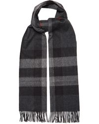 Burberry - Giant House-check Cashmere Scarf - Lyst