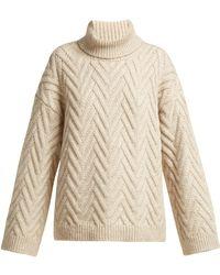 Nili Lotan - Lee Roll Neck Sweater - Lyst