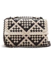 Bottega Veneta - Olimpia Intrecciato Leather Cross-body Bag - Lyst