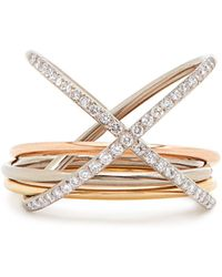 Charlotte Chesnais - Xxo Diamond & Gold Ring - Lyst