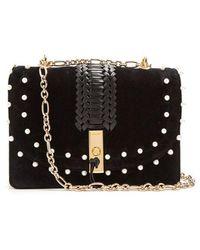 Altuzarra - Ghianda Braided-leather Suede Shoulder Bag - Lyst
