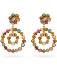 Sylvia Toledano - Beaded Circular Drop Earrings - Lyst