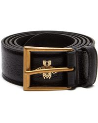 345ac326a15 Lyst - Gucci Canvas Web Belt With Bee Buckle for Men