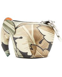 Loewe - X William Morris Elephant Coin Purse - Lyst