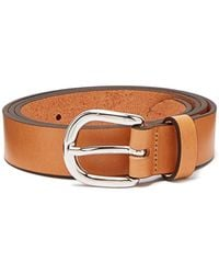 Isabel Marant - Zap Skinny Leather Waist Belt - Lyst