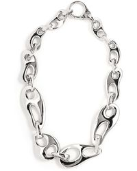 Prada - Chain Link Necklace - Lyst