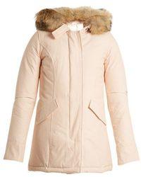 Woolrich - Arctic Fur-trimmed Down Parka - Lyst