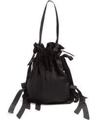Simone Rocha - Bow-detail Taffeta Shoulder Bag - Lyst