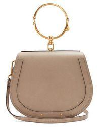 Chloé - Nile Medium Leather Cross-body Bag - Lyst
