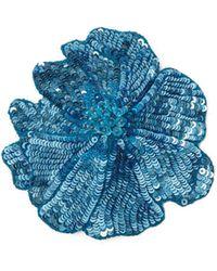 Racil - Sequin Flower Brooch - Lyst